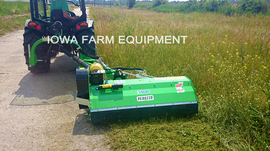 Peruzzo Elk Cross Model 1600 3-Point Ditch Bank Flail Mower